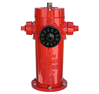 Clow Red Fire Hydrant